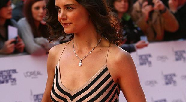Katie Holmes said her stage show causes her sleepless nights