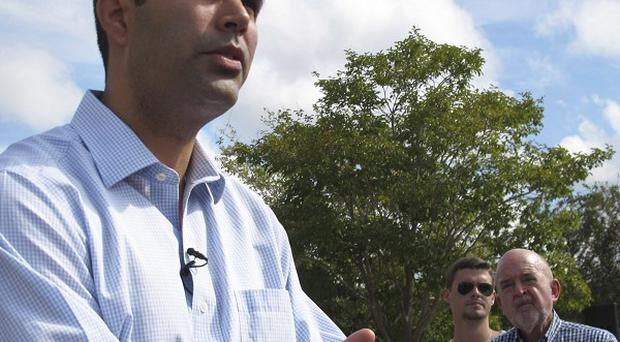 George P Bush, nephew of former President George W Bush, has signalled his intent to run for office (AP Photo)