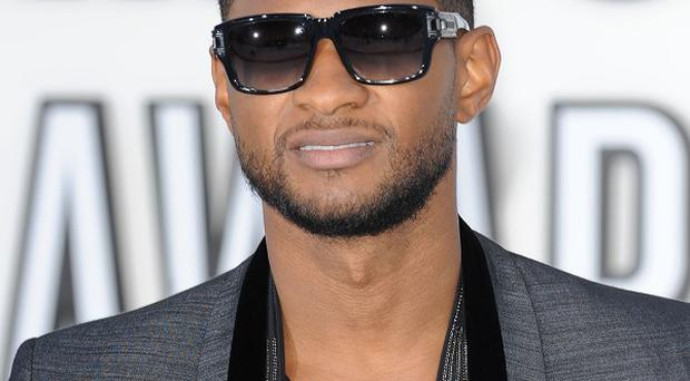 Usher was given special treatment casting his election vote