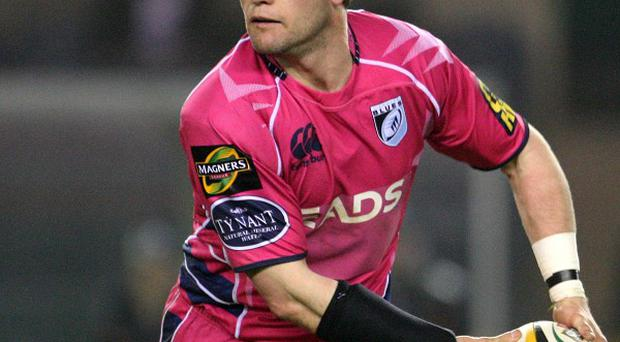Ceri Sweeney scored the decisive try for Cardiff Blues, who defeated Wasps