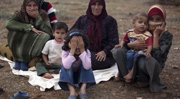 Turkey is currently sheltering more than 112,000 Syrian refugees (AP)