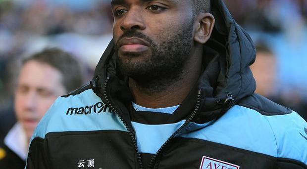 Darren Bent has been forced out of Aston Villa's squad through injury