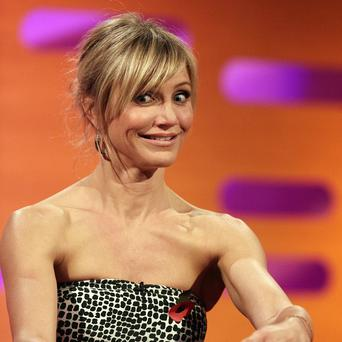 Hollywood star Cameron Diaz has appeared on The Graham Norton Show