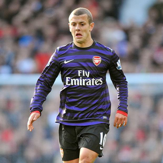 Jack Wilshere has made just three first-team appearances since returning from injury