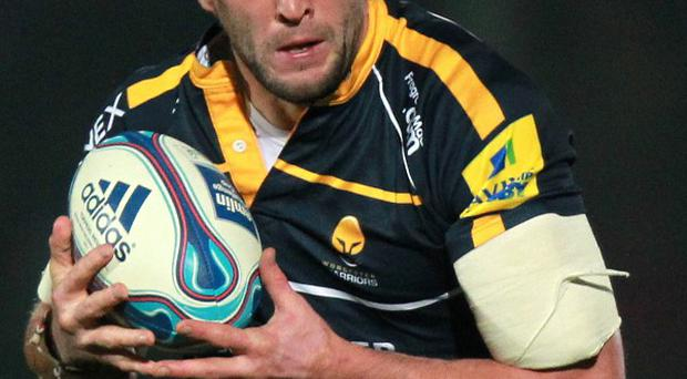 Neil Best was one of four try-scorers for Worcester