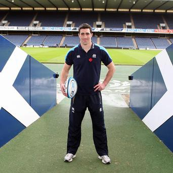 Kelly Brown hopes Scotland's Test against New Zealand will be one to remember