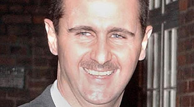 The explosions were followed by clashes between regime forces and rebels fighting to topple president Bashar Assad.