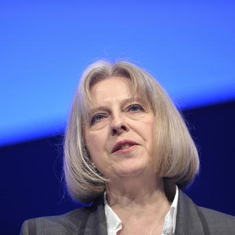 Home Secretary Theresa May denied chief constables would find their operations compromised by the newly elected politicians