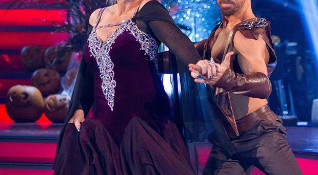 Fern Britton and Artem Chigvinstev have been voted off Strictly Come Dancing