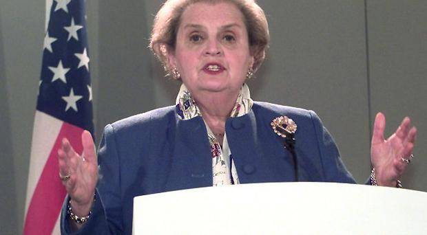 Former US Secretary of State Madeleine Albright says European fragmentation is not a good idea