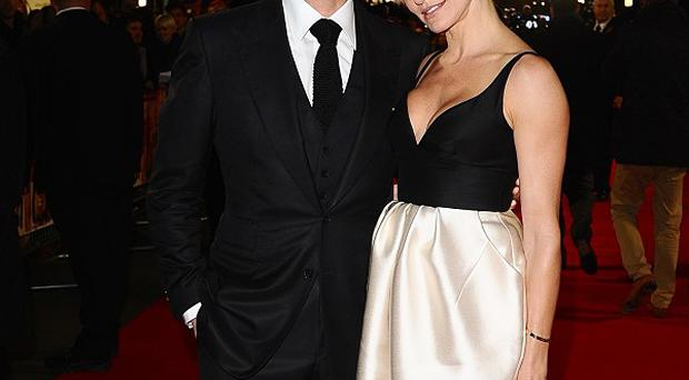 Colin Firth's Gambit co-star Cameron Diaz was tickled by the sight of his knobbly knees