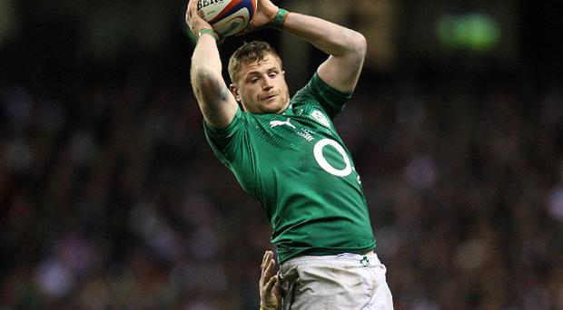 Jamie Heaslip apologised for his yellow card against South Africa