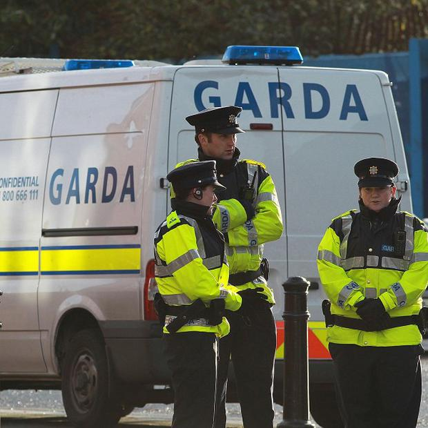 Gardai were called to the scene after a light aircraft crashed in Co Offaly