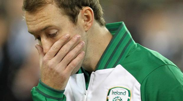 Aiden McGeady has been forced to withdraw from the Ireland squad