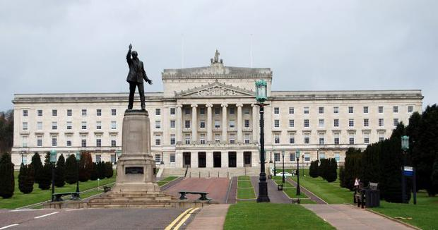 Stormont Parliament Buildings. Photo by Peter Rainey.