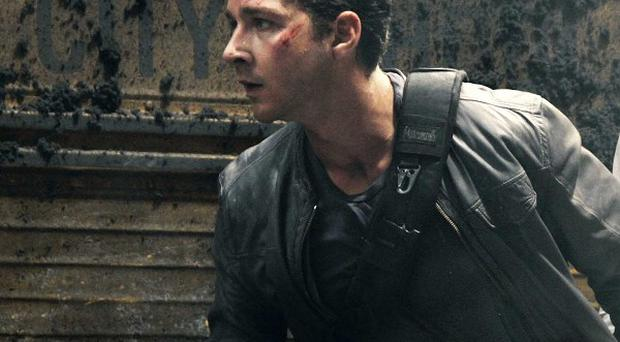 Shia LaBeouf starred in the first three Transformers movies