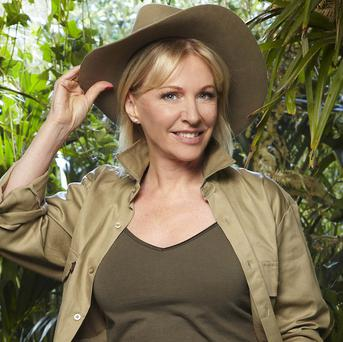Nadine Dorries and her team were forced to get used to outdoor life one night early
