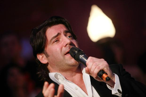 Brian Kennedy performs at the 'Royal Does Strictly', an evening of dance, glitz and glamour at Titanic Belfast
