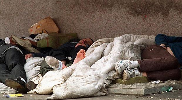Families who never dreamed of being homeless could end up on the streets due to a 'perfect storm' of adverse factors, experts warned