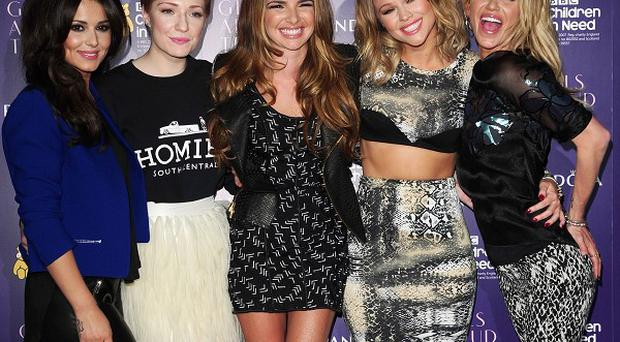 Reunited Girls Aloud will be performing at London's O2 Arena