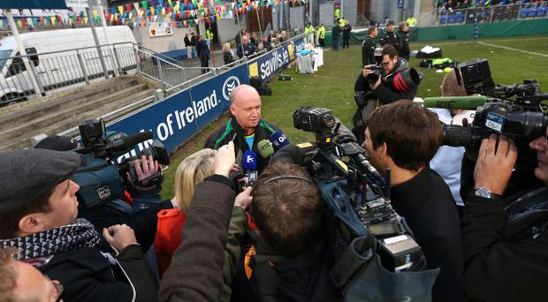 Ireland coach Declan Kidney is a man under pressure as his side's poor form could threaten their World Cup seeding