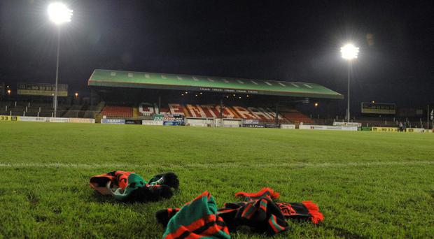 Glentoran players are concerned after the latest episode of wages not being paid
