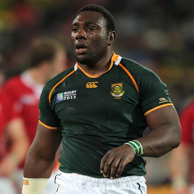 South Africa prop Tendai Mtawarira has returned home