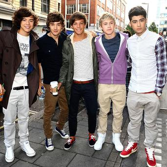 Fans camped out in New York to see One Direction perform a free gig live on US TV