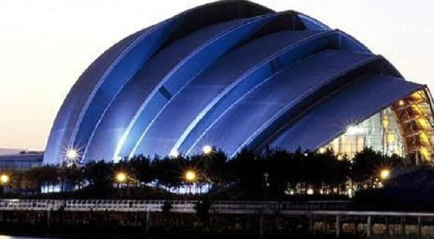 The body of a Thai national was found at the Clyde Auditorium in Glasgow's SECC on Monday