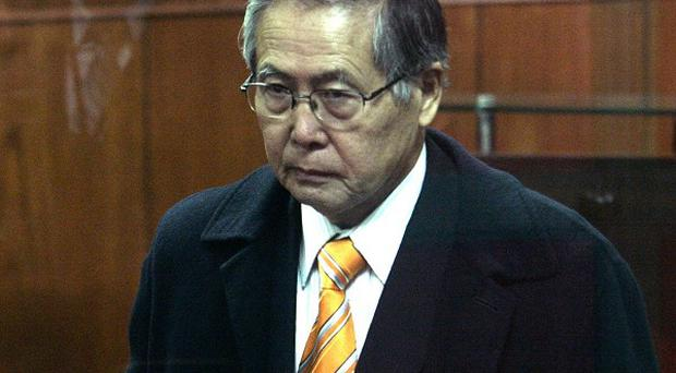Former Peruvian president Alberto Fujimori is serving 25 years for authorising death squad murders and corruption