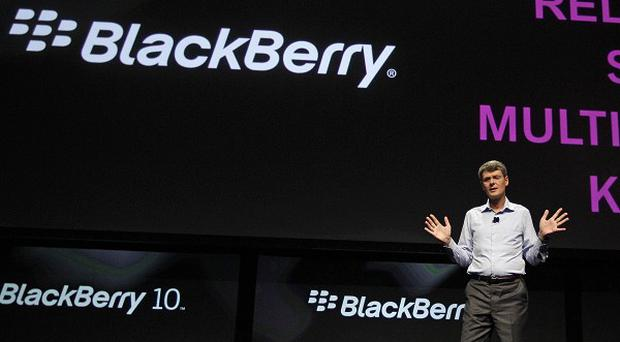 RIM CEO Thorsten Heins hoped to release BlackBerry 10 this year but admitted in June that this was not realistic