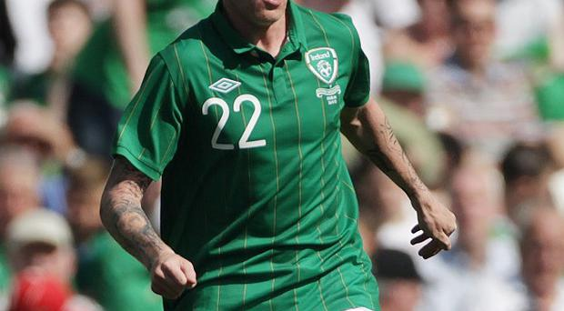 James McClean starts for the Republic of Ireland on Wednesday night