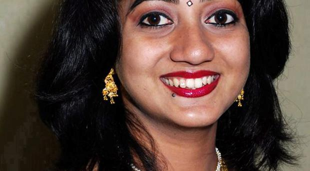 Savita Halappanavar (31) was 17 weeks pregnant when she died after suffering a miscarriage and septicaemia