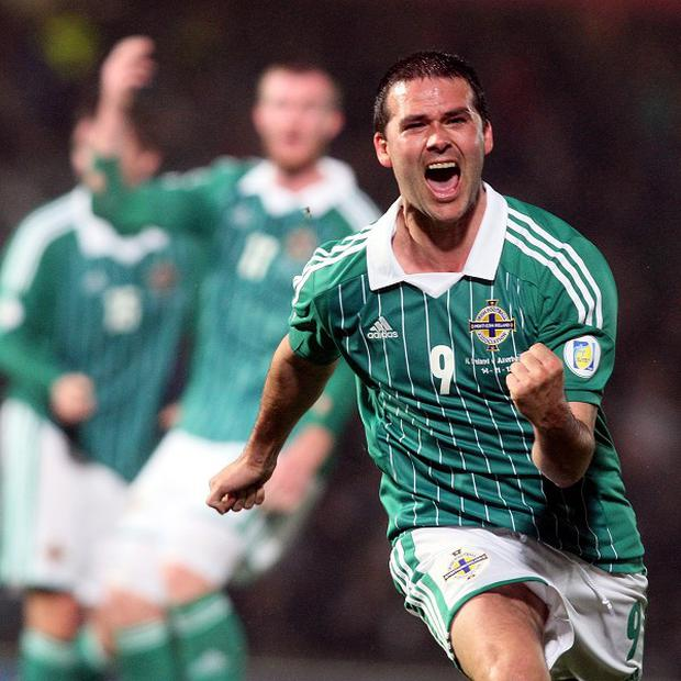 David Healy is Northern Ireland's record goal scorer