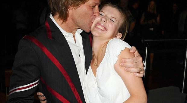 Jon Bon Jovi and his daughter Stephanie, who is reportedly in hospital after a drugs overdose