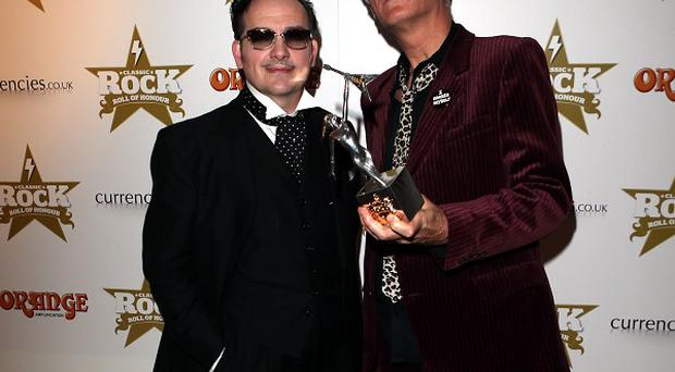 The Damned won the Outstanding Contribution Award