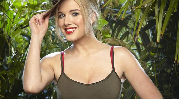 Helen Flanagan was chosen for her third I'm A Celebrity task