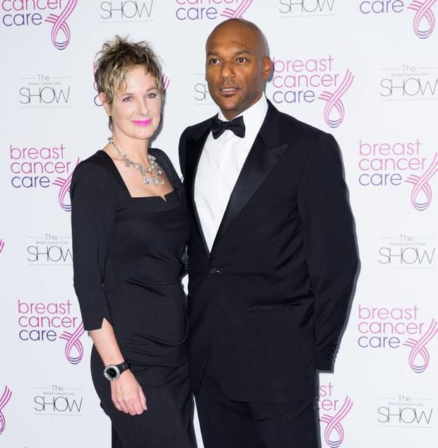 Colin Salmon and his wife of 25 years, Fiona Hawthorne