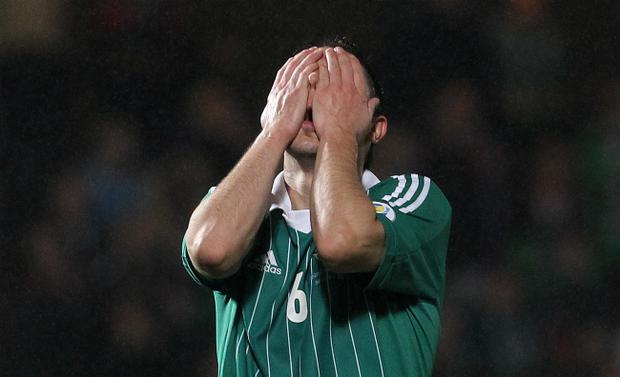 Craig Cathcart's reaction sums up a shocking Northern Ireland result