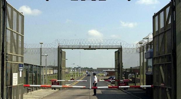 An inmate at Maghaberry Prison was found with secret spying equipment