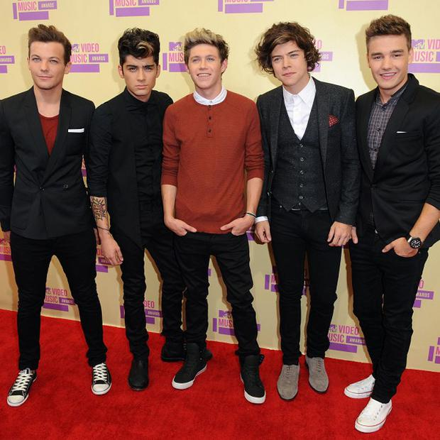 One Direction are enjoying success with new record Take Me Home
