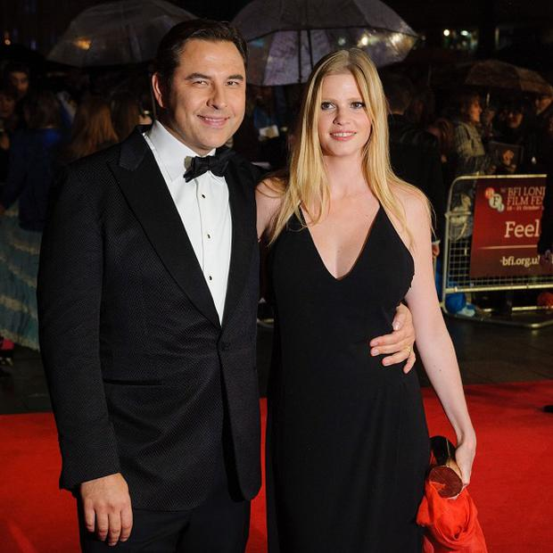 David Walliams and wife Lara Stone are expecting their first child