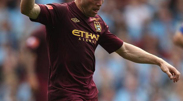 Manchester City midfielder James Milner is closing in on a return from injury