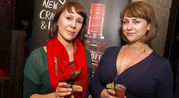 Selector radio listening party at Ollies: Rox Kennedy and Beccy Esdale