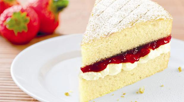 The ultimate Victoria sponge cake