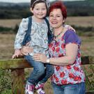 Step by step: Sascha Fuller (5), who has leukaemia, at home with mum Nikki