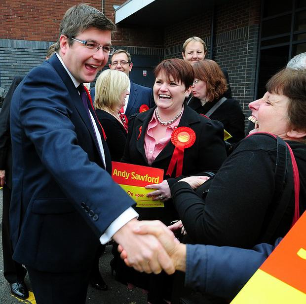 Labour's Andy Sawford has won the Corby by-election