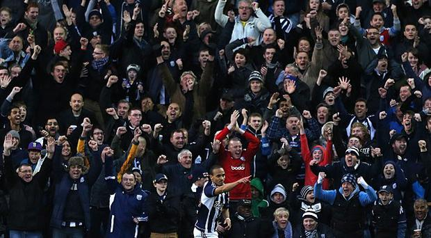 Peter Odemwingie's header in the second half gave West Brom a 2-1 victory over Chelsea