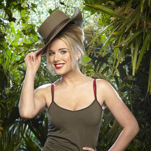 Helen Flanagan won a night in the jungle pub