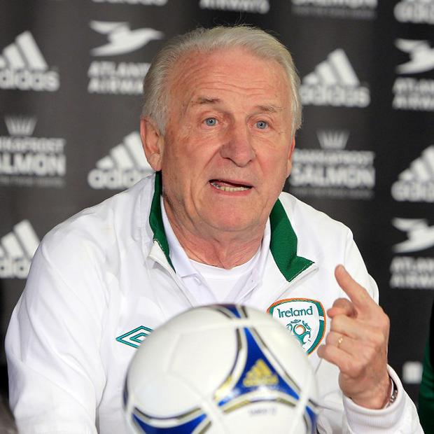 Giovanni Trapattoni was impressed by his young side against Greece